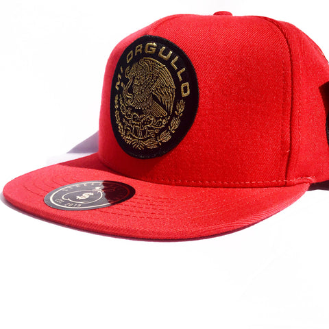 # Mi Orgullo Original SnapBack (Red)