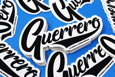# GUERRERO STICKER