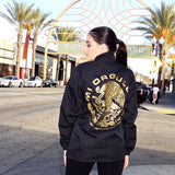 MI ORGULLO / MEN'S BLACK COACHES JACKET