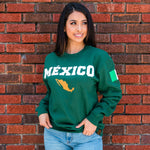 # México Lindo SweatShirt (Dark Green)