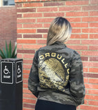 Mi Orgullo Men's Camo Coaches Jacket