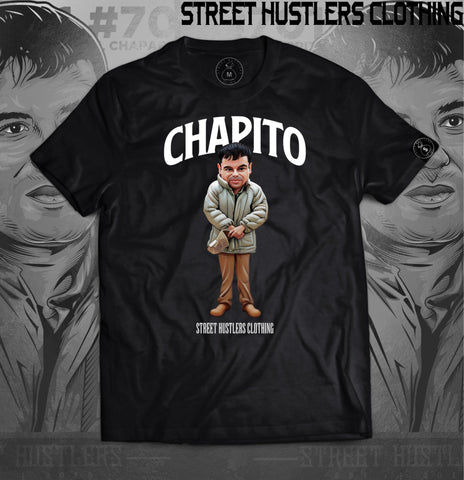 # Chapito T-shirt (Black)