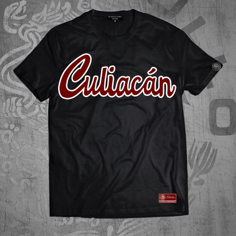 # CULIACÁN BLACK T-SHIRT