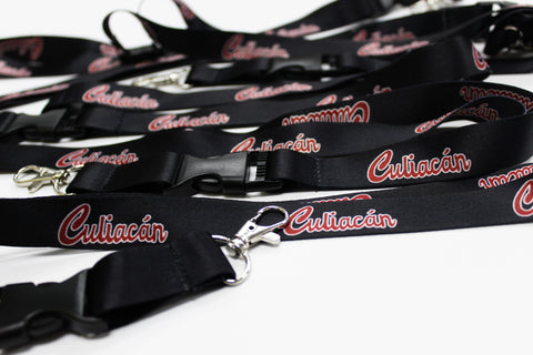 # Culiacán Lanyards (Black)