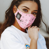 FACE MASK (PINK/BANDANA)