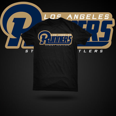 Los Angles Runners T-shirt (BLK)