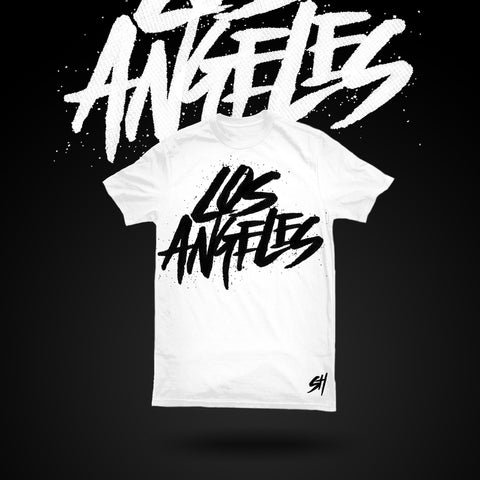 Los Angeles T-shirt (White)