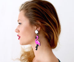 Catface Earrings - FLAMINGOGO