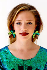 Catface Earrings - TROPICANA