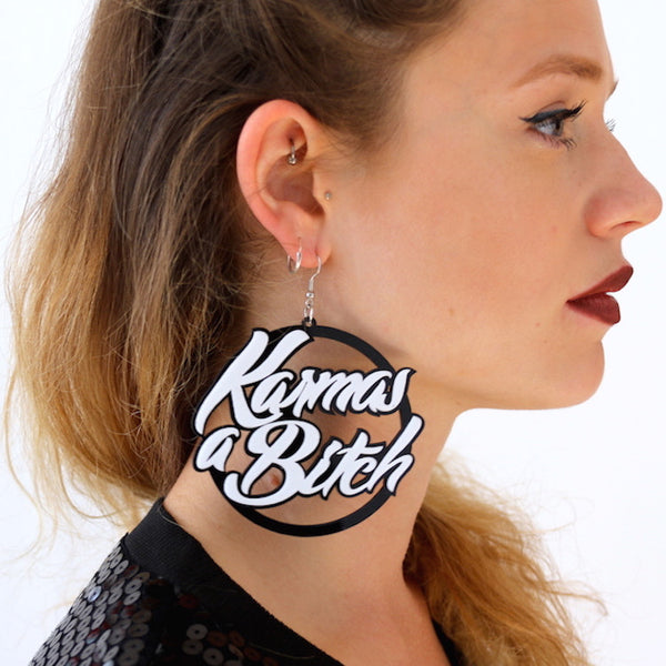 Catface Earrings - KARMA