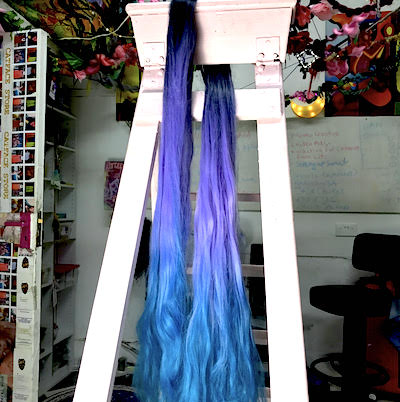 LILAC BLUES OMBRE -  34 INCHES