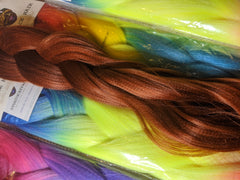 SOFT GINGER BRAIDING HAIR 34 INCHES *LARGE PACK CATFACE HAIR