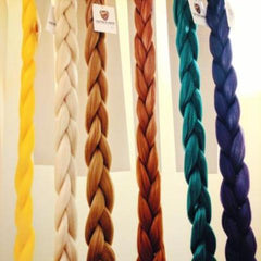 BROWNIE BRAIDING HAIR 34 INCHES *LARGE PACK