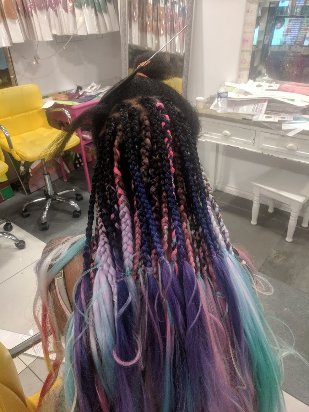 STUDIO CATFACE SESSIONS: HAIR APPOINTMENT SMALL BOXBRAIDS