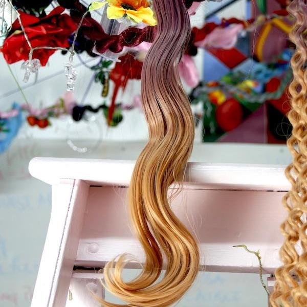 PINK CANDY OMBRE - BODY WAVE | SYNTHETIC WEFT HAIR