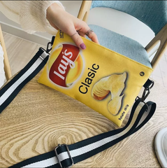 CATFACE CRISPY PURSE