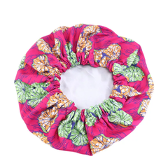African Style Satin Ankara Bonnet -  LARGE - CHI CHI