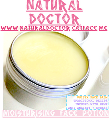 NATURAL DOCTOR ULTRA PREMIUM ORGANIC HEMP MOISTURISING FACE POTION