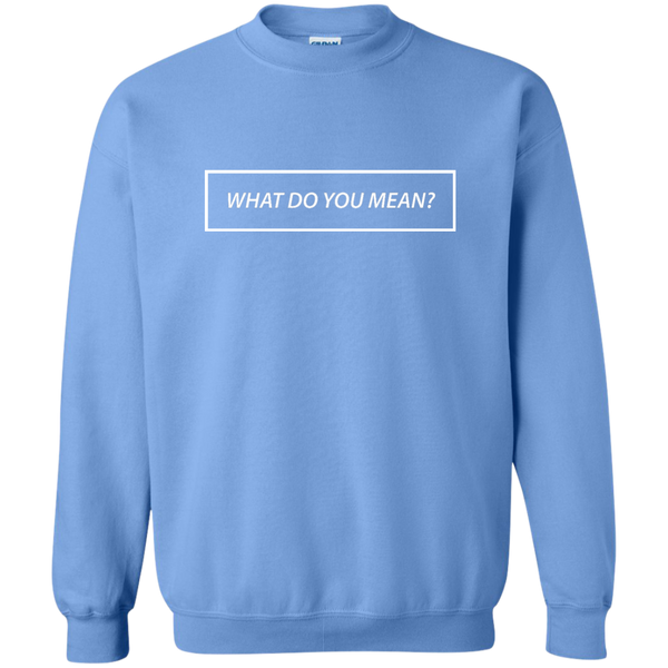 What Do You Mean? Sweatshirt