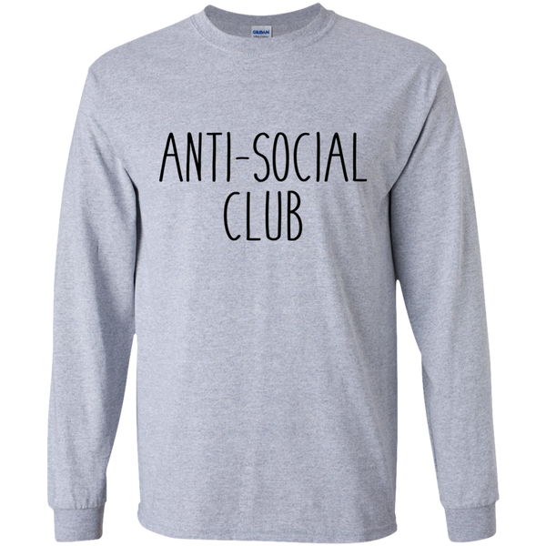 Anti Social Club Long Sleeve *Light