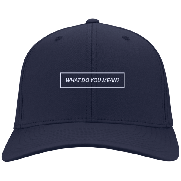 What Do You Mean? Hat