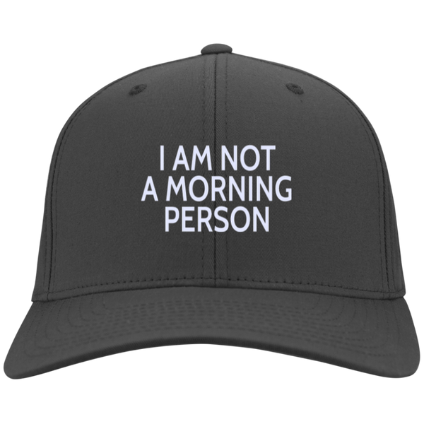 Not A Morning Person Hat