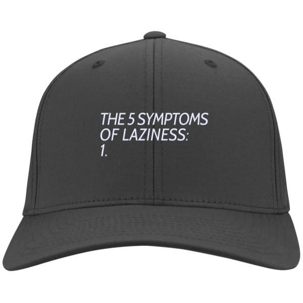 5 Symptoms of Laziness Hat