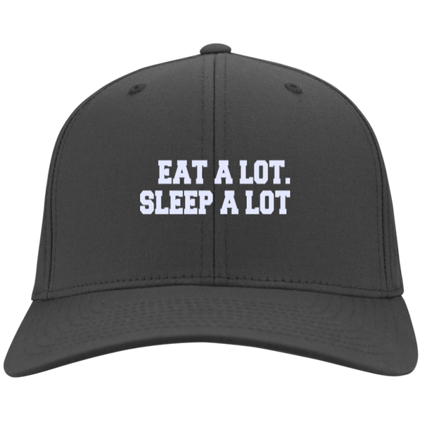 Eat A Lot. Sleep A Lot Hat