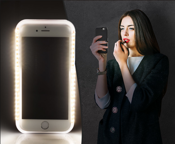 NEW Selfie Light iPhone Case