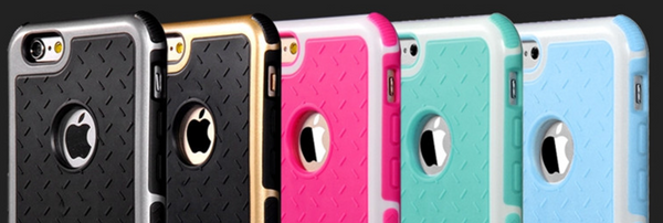 Shockproof Rubber iPhone [5/6] Case