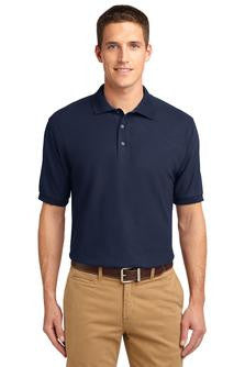 Port Authority® Men's Silk Touch™ Polo. K500 With Maeser Logo