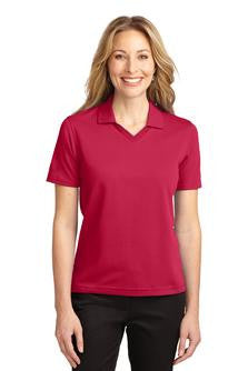 Port Authority® Ladies Rapid Dry™ Polo. L455 with Maeser Logo (CLEARANCE)