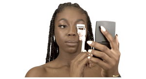 Lash-App Silver (AMINATA) Set includes 1 pair of eye-am 3D mink lashes
