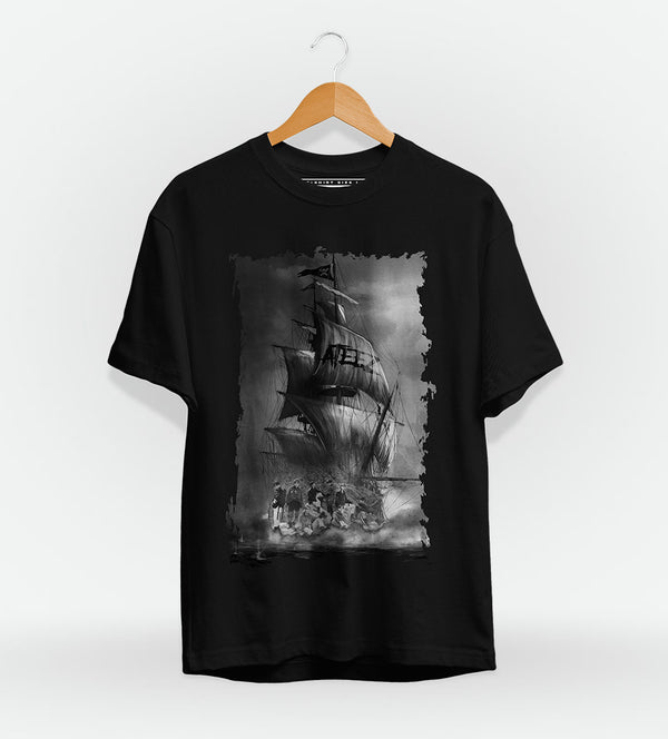 T-Shirt Square Black Ateez