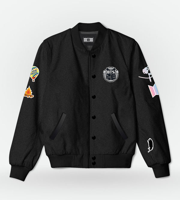 Bomber Jacket BTS 2.0 + Kit de Patches