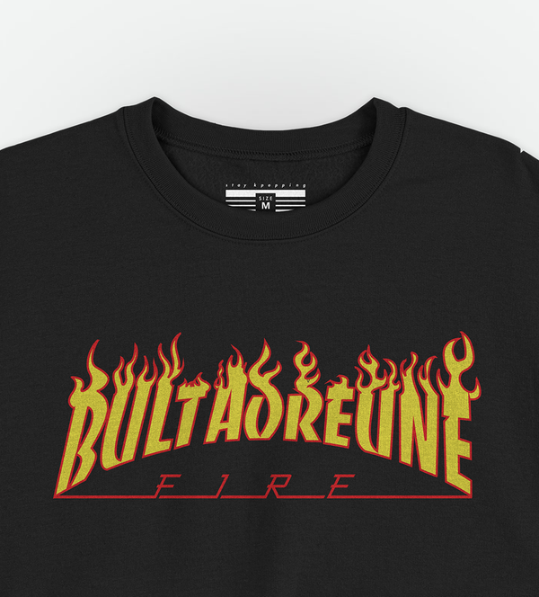 Moletom Sweater Bultaoreune Fire