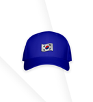 Boné Korea Flag Blue