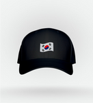 Boné Korea Flag Black