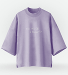 Half Oversized T-Shirt Loona Butterfly