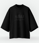 Half Oversized T-Shirt NCT Black on