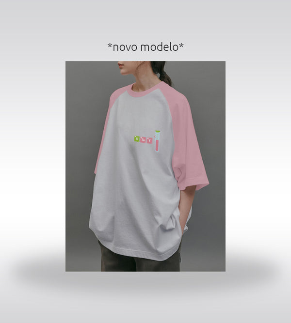 Raglan Oversized Love Shot