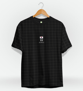 T-Shirt Korea Aesthetic Black