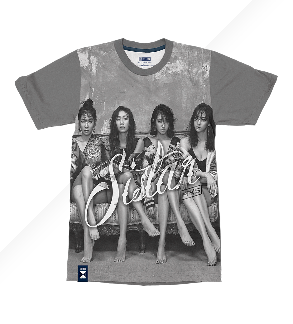 T-Shirt Black Shade Sistar