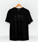 T-Shirt Square NCT Black on