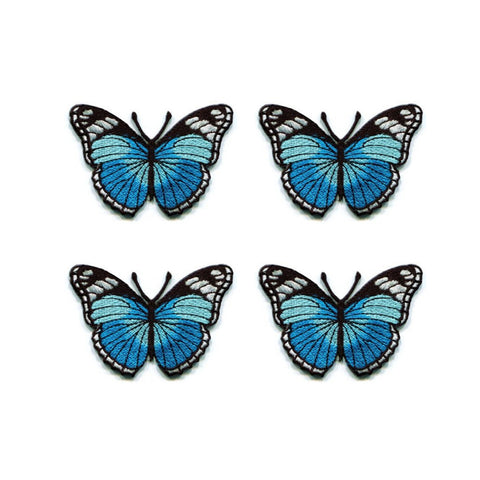 Butterfly Patch Sticker - Includes 4 Patches