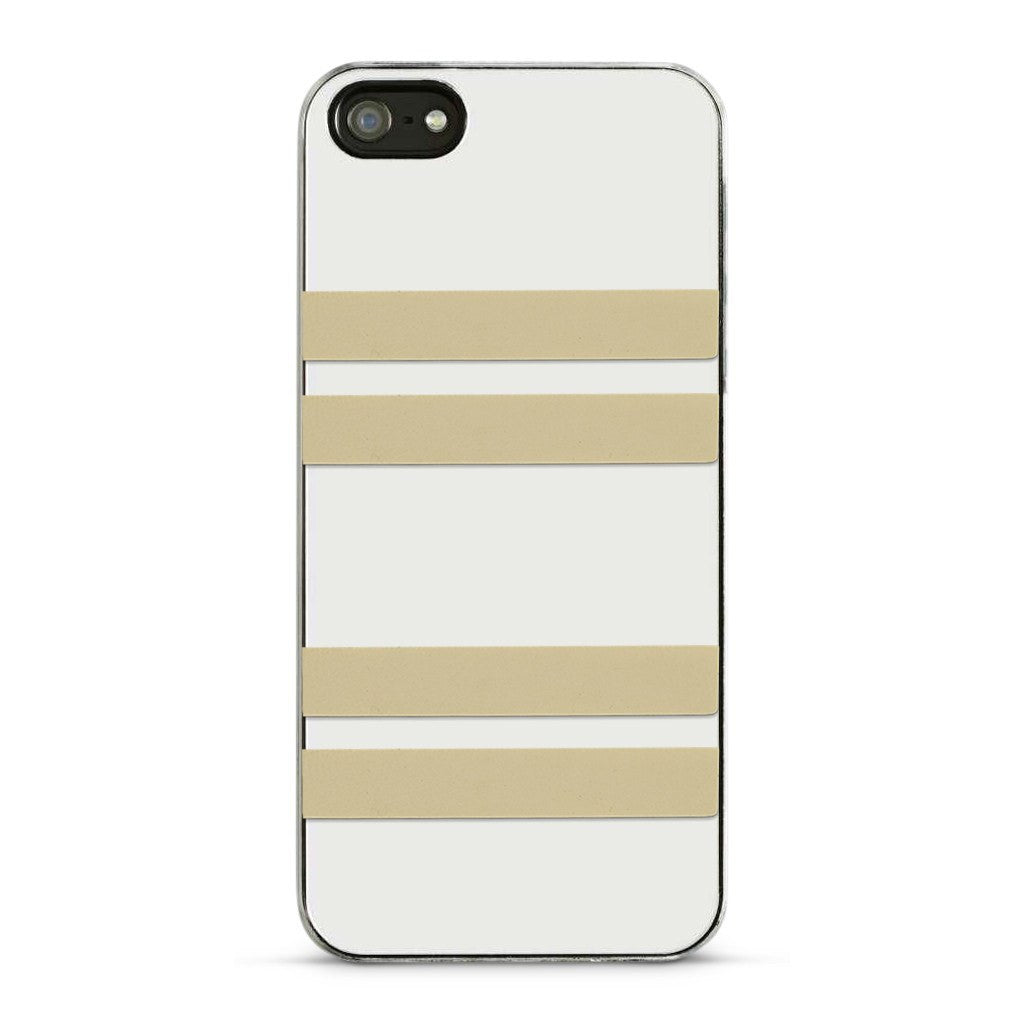 Leather Skinny Stripe Stickers - Bone  (Includes 8 Stickers)