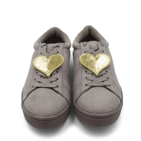 Heart Shoe Cover - Gold