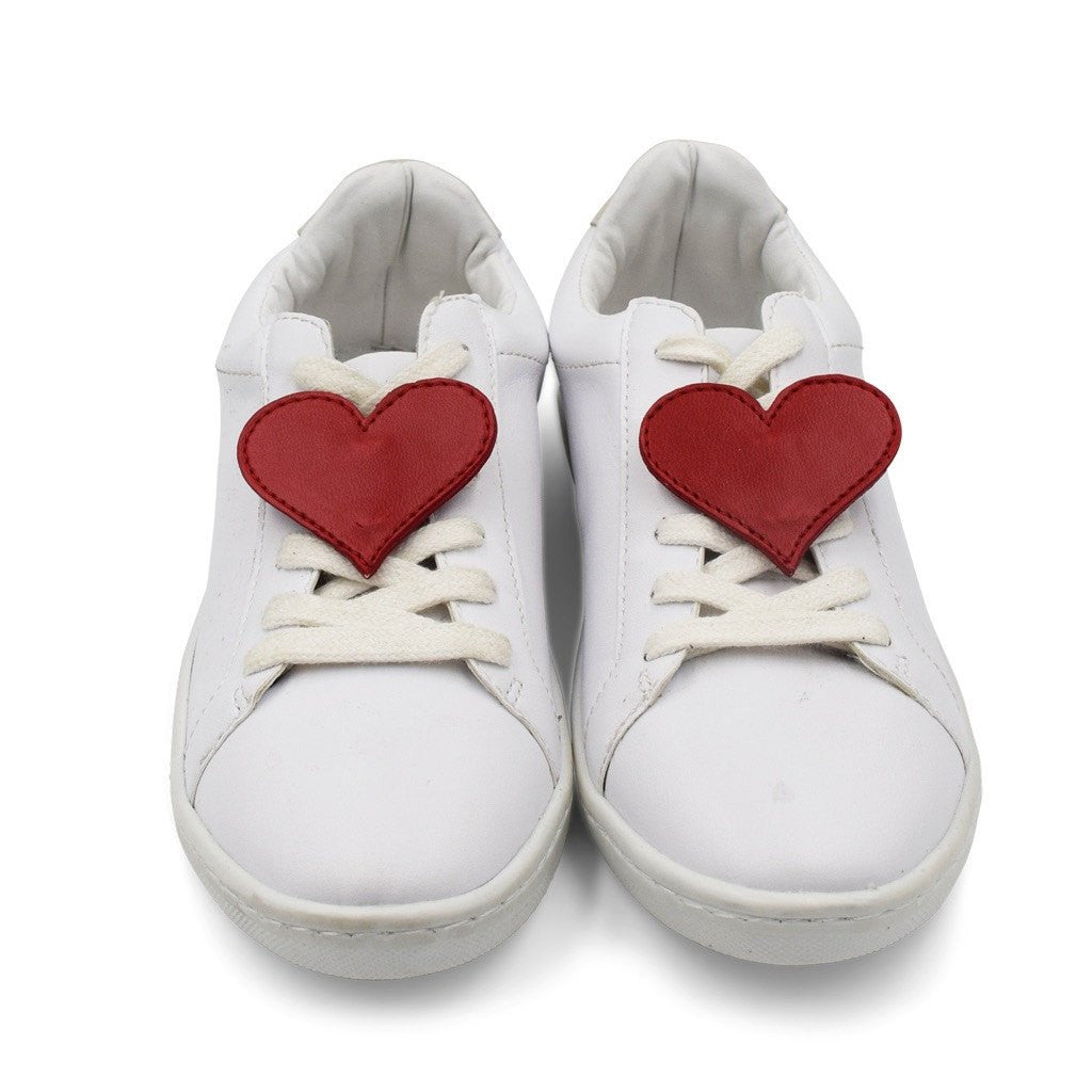 Heart Shoe Cover - Red