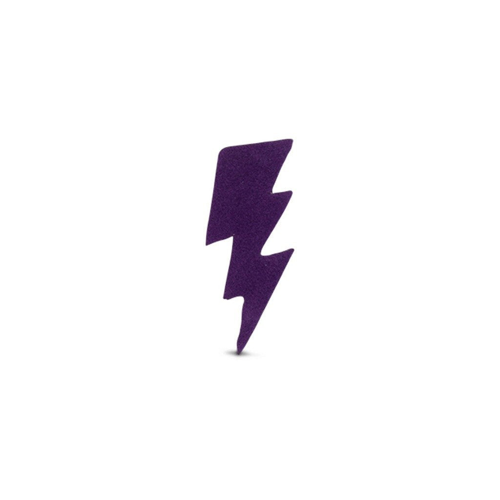 Velvet Small Bolt Sticker - Purple