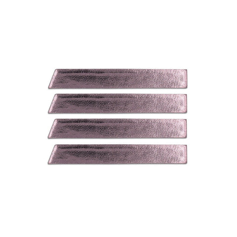 Skinny Stripe Sticker - Pink Metallic  (Includes 8 Stickers)
